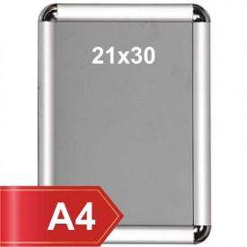 A4 Alüminyum Çerçeve 21x30 cm